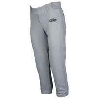 Rawlings Low Rise Fastpitch Pants - Women's - Grey / Grey
