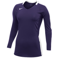 Nike Vapor Pro L/S Jersey - Women's - Purple / White