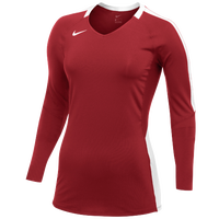 Nike Vapor Pro L/S Jersey - Women's - Red / White