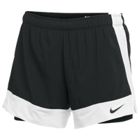 Nike Team Flex 2-in-1 Shorts - Women's - Black / White