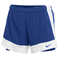 Nike Team Flex 2-in-1 Shorts - Women's - Blue / White