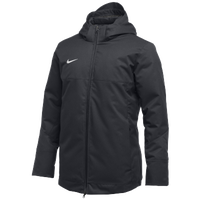 Nike Team Down Filled Parka - Men's - Black / White