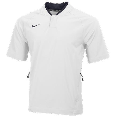 Nike Veste Chaude Courte Pratique Au Bâton De Manchon