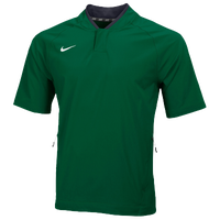 Nike Team Hot Jacket - Men's - Dark Green / Dark Green