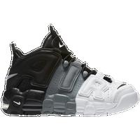 Nike Air More Uptempo - Boys\u0027 Grade School - Black / Grey