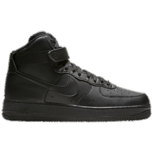 Nike Air Force 1 High - Men\u0027s - All Black / Black