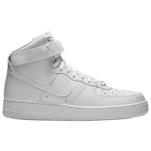 nike air force 1 high men 39 s casual shoes white white. Black Bedroom Furniture Sets. Home Design Ideas