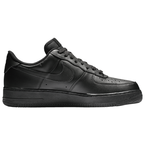 jordan air force 1. nike air force 1 low - men\u0027s all black / jordan