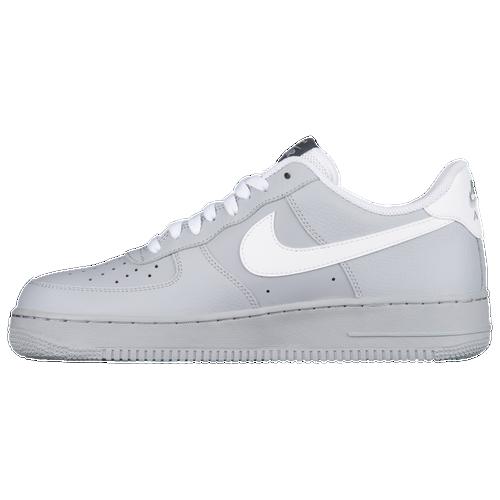 nike air force 1. nike air force 1 low - men\u0027s grey / white