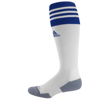 adidas Team Copa Zone Cushion II Socks - Men's - White / Blue