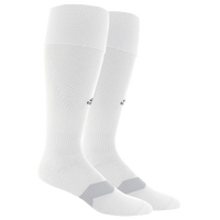 adidas Metro IV Soccer Socks - Men's - White / Grey