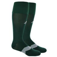 adidas Metro IV Soccer Socks - Men's - Dark Green / Grey