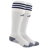 adidas Team Copa Zone Cushion III Socks - Men's - White / Navy