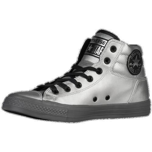 43924490f2b46 free shipping Converse All Star Fresh Mens Basketball Shoes Silver ...