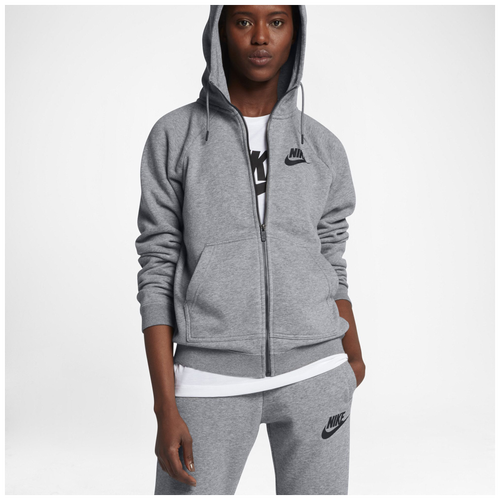 Nike Rally Full Zip Hoodie Women S Casual Clothing