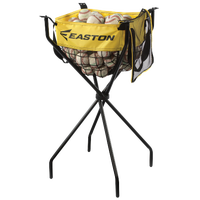 Easton Team Ball Caddy w/ Carry Bag - Yellow / Black