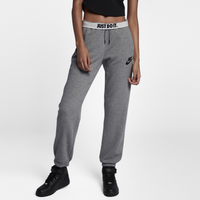 Nike Rally Loose Fit Pants - Women's - Grey / Grey
