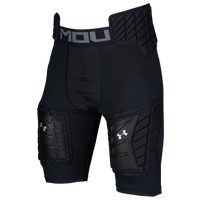 Under Armour Football Padded 5-Pad Girdle - Men's - All Black / Black
