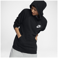 Nike Rally Hoodie - Women's - All Black / Black