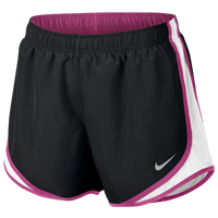 "Nike Dri-FIT 3.5"" Tempo Shorts - Women's - Black / White"