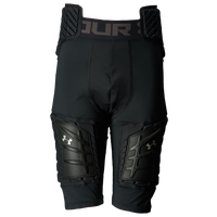 Under Armour Football Padded 5-Pad Girdle - Boys' Grade School - All Black / Black