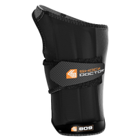 Shock Doctor Ultra Wrist-Sleeve Wrap Extended Support - Men's - Black / Orange