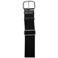"All Star 1 1/2"" Elastic Uniform Belt - All Black / Black"