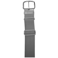 "All Star 1 1/2"" Elastic Uniform Belt - Grey / Grey"