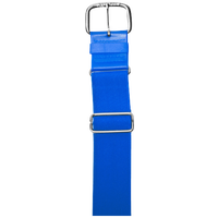 "All Star 1 1/2"" Elastic Uniform Belt - Blue / Blue"
