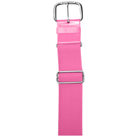 "All Star 1 1/2"" Elastic Uniform Belt - Pink / Pink"