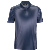 Nike Dri-Fit Victory Stripe Golf Polo - Men's - Navy / Grey