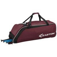 Easton E510W Wheeled Bat Bag - Maroon / Black