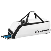 Easton E510W Wheeled Bat Bag - White / Black