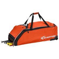 Easton E610W Wheeled Bag - Orange / Black
