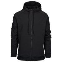 Eastbay EVAPOR Premium Full Zip Hoodie - Men's - All Black / Black