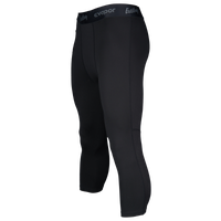 Eastbay EVAPOR Premium 3/4 Compression Tights - Men's - All Black / Black