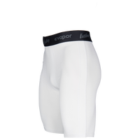 Eastbay EVAPOR Premium 8'' Compression Shorts - Men's - White