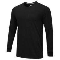 Nike Team Core L/S T-Shirt - Men's - All Black / Black