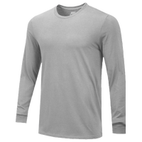 Nike Team Core L/S T-Shirt - Men's - Grey / Grey