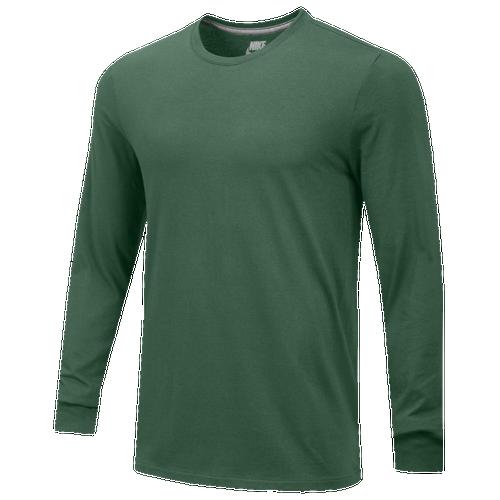 Nike Team Core L/S T-Shirt - Men's Baseball - Team Maroon 16185610