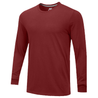 Nike Team Core L/S T-Shirt - Men's - Maroon / Maroon