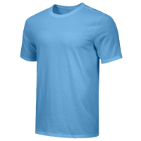 Nike Team Core S/S T-Shirt - Men's - Light Blue / Light Blue