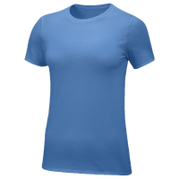 Nike Team Core S/S T-Shirt - Women's - Light Blue / Light Blue