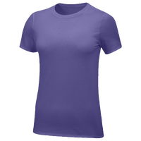 Nike Team Core S/S T-Shirt - Women's - Purple / Purple