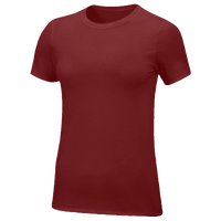 Nike Team Core S/S T-Shirt - Women's - Maroon / Maroon