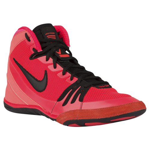 pink nike freeks wrestling shoes