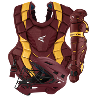 Easton Youth Elite X Catcher's Set - Grade School - Maroon