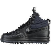 Nike Lunar Force 1 Duckboots - Men's - All Black / Black
