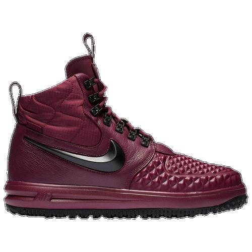 Nike Lunar Force 1 Duckboot Men's Casual Shoes Bordeaux/Black