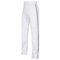 Easton Mako 2 Piped Baseball Pants - Men's - White / Dark Green